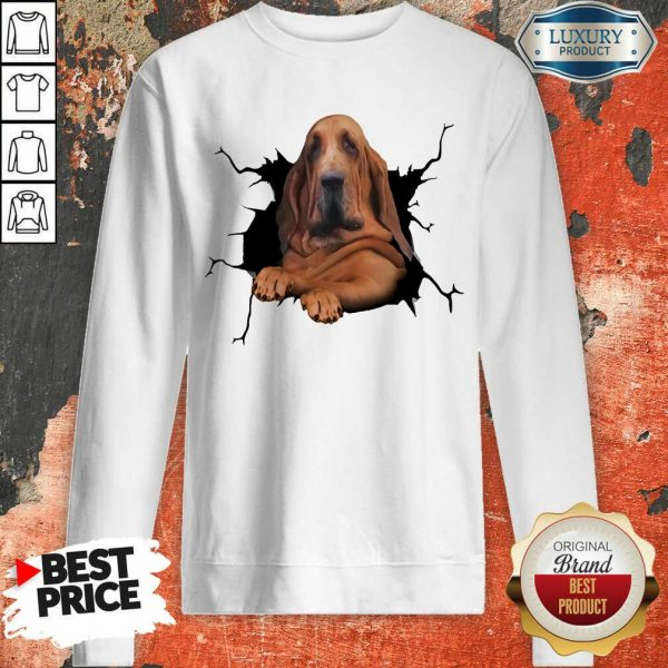 I Love Bloodhound Sweatshirt