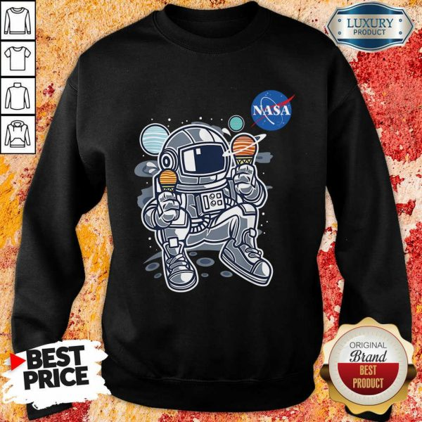 Nasa Ice Cream Sweatshirt