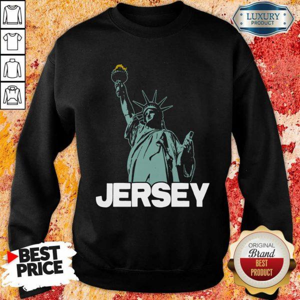 New Jersey Statue Of Liberty Sweatshirt