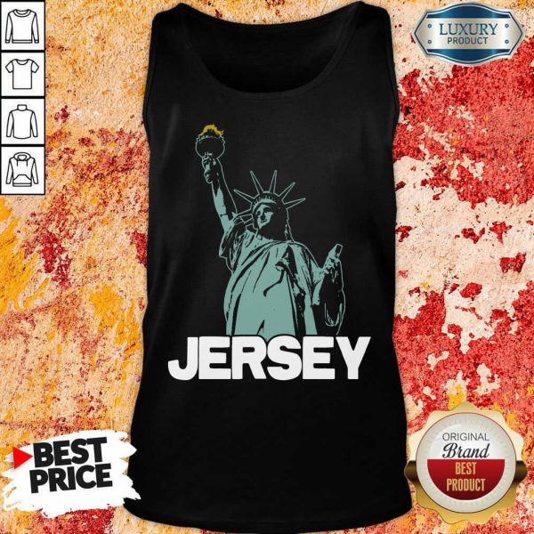 New Jersey Statue Of Liberty Tank Top