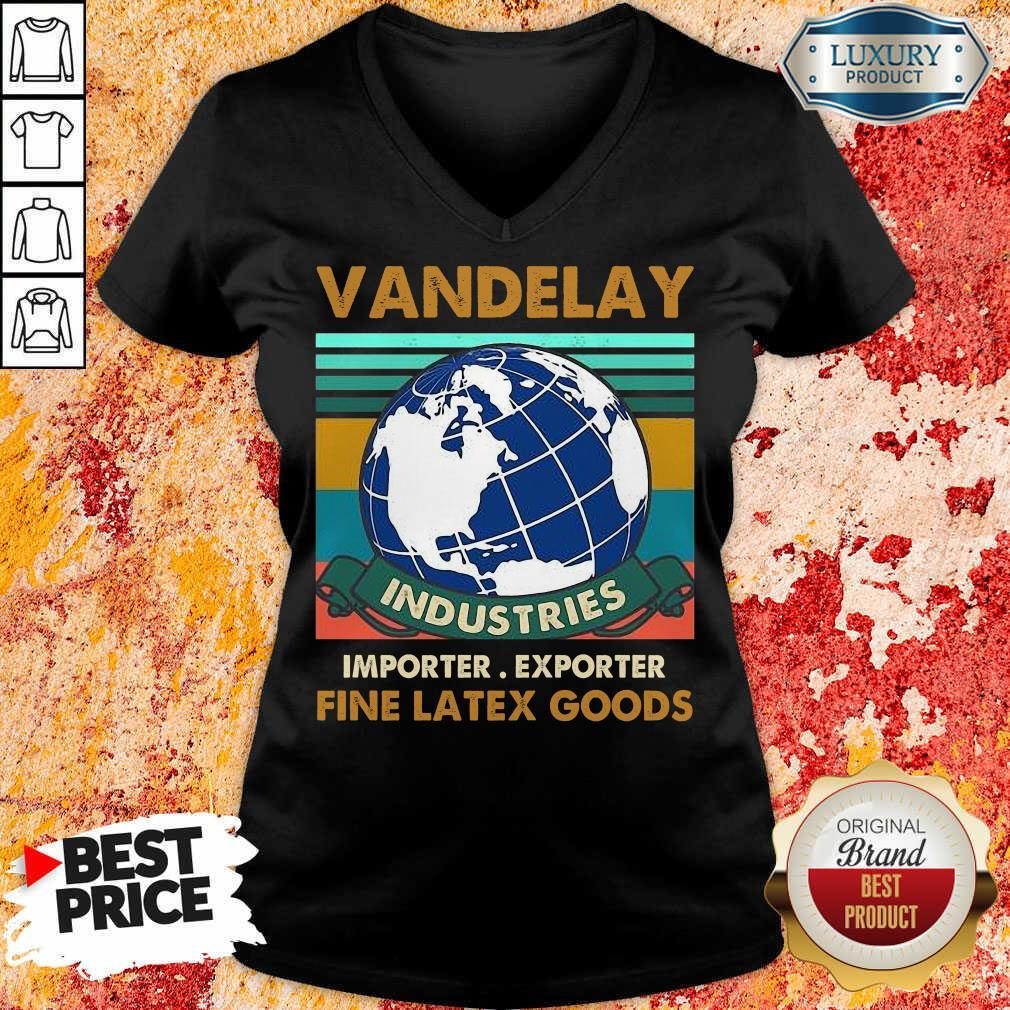 Vandelay Importer Exporter Fine Latex Goods V-neck